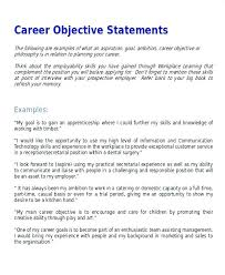 career goals for resume employment objective or cover letter accounting objective resume