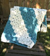 Bernat Crochet Patterns Delectable Quick And Easy Baby Blanket Free Crochet Pattern Amanda Saladin