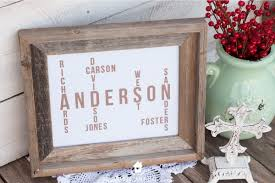 diy family name tree perfect for a sentimental wedding gift anniversary gift or