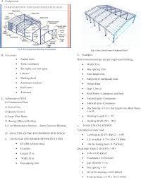 Peb Structure Design Procedure Pdf Performance Assessment Of Pre Engineered Building