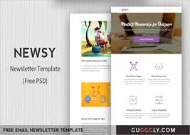 Newsletter Layout Templates Free Download 33 Free Newsletter