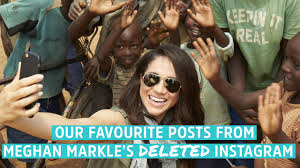 Meghan Markles Now Deleted Instagram All The Best Pics Now To Love