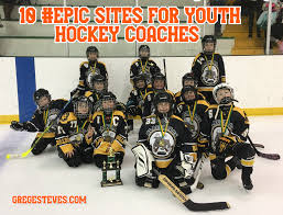 10 epic sites for youth hockey coaches