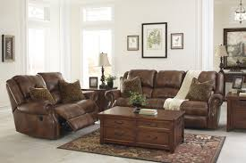 Living Room Sets At Ashley Furniture Signature Design By Ashley Furniture Walworth Leather Match