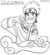 Coloring Pages Naruto Thanhhoacarcom