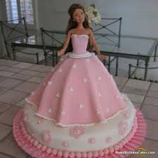 Beautiful Barbie Cake Barbie Birthday Cake For Girl