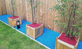 20kg of decorative garden stone