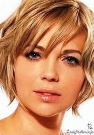 Střih Na Kulatý Obličej Pro Střední Vlasy 114 Nápadů Na Fotografii