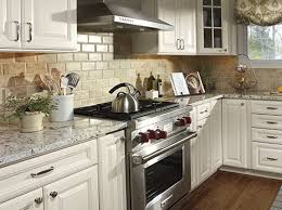 Decorating Top Of Kitchen Cabinets Classic White Wooden Kitchen Island Grey  Marble Kitchen Countertop Long Island Diy Steel Range Hood Above Modern  Stove ...