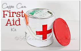 first aid kit and printable checklist diy first aid kit