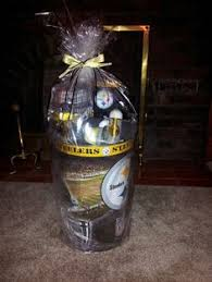 my first diy gift man gift birthday gift steelers gift anytime gift football diy stuff i will probably never do