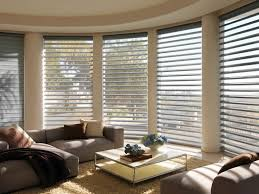 Bay Window Treatment Ideas  Bay Window Curtain Ideas And Design Bay Window Blind Ideas