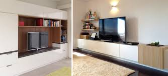 Small Picture Entertainment Media Wall Units Sydney Australia Spaceworks Design