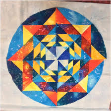 The (Almost) Fractal Mandala – Block Fourteen, Round the Year ... & The (Almost) Fractal Mandala – Block Fourteen, Round the Year Quilt Adamdwight.com