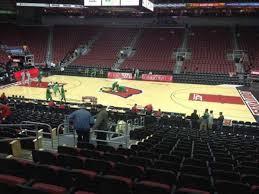 Yum Center Seating Chart Women S Basketball Kfc Yum Center Section 115 Row W Seat 11 Home Of
