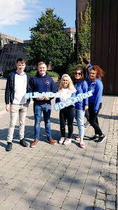 """Jana Jurdikova on Twitter: """"Our lovely campus ambassadors Orlaith and Conor  and TA team on #dellontour in UL campus. #lifeatdell… """""""