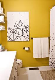 >try this easy washi tape wall art a beautiful mess bathroom art