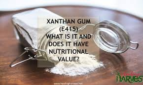 Xanthan Gum (E415)- What is it and does it have nutritional value ...
