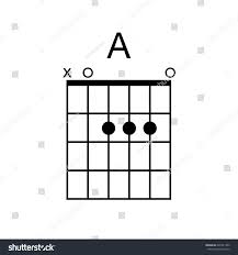 Vector Guitar Chord Chord Diagram Tab Stock Vector 626741363 ...
