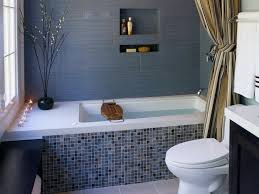 Corner Bathroom Vanities HGTV - Small bathroom with tub