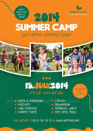 Summer Camp Flyer Template Unique Summer Camp Brochure Template Toddbreda