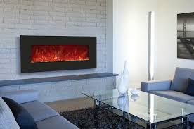 wall mount fireplaces incredible thin electric fireplace decorating ideas 7