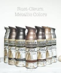 Rust Oleum Metallic Spray Paints Diy Home Metallic Spray