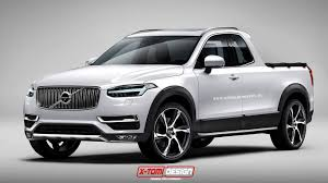 2015 Volvo XC90 Rendered as Pickup Truck from Your Nightmares ...