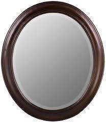 mirror oval. cooper classics chelsea oval mirror magnifier