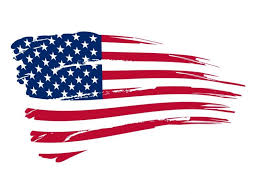 American Flag Template Backgrounds For Powerpoint Templates