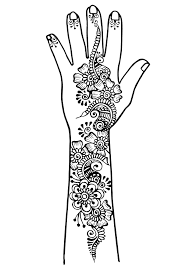 Arm And Hand Tattoo 1 Tattoos Adult Coloring Pages