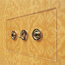 Brass Light Switch Covers Uk Are The Invisible Plastic Plates For Switches And Sockets