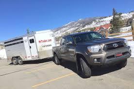 2017 Tacoma Towing Capacity Chart 2015 Toyota Tacoma V6 4x4 Extreme Towing Test Ike