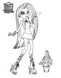 Monster High Disegni Da Colorare E Stampare Gratis