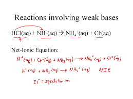 net ionic equations hcl aq naoh nacl h 2 o l what