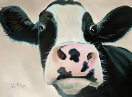 my colourful cow paintings are painted on high quality canvases using vibrant oil paints if you have an account you can receive notifications of when