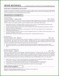 Warehouse Resume Objective Top 7 Resume Objective For