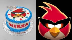 Angry Bird Cake Decoration Easy
