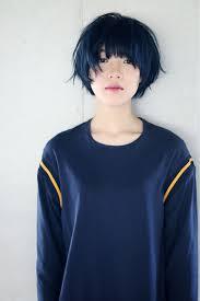 Blue Hair Hairstyle ヘアスタイルヘアーブルーヘア