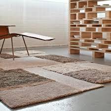 contemporary rug plaid plain wool salinas de maras salty white