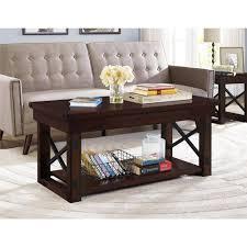 mahogany coffee table. Better Homes And Gardens Preston Park Coffee Table, Mahogany - Walmart.com Table 9