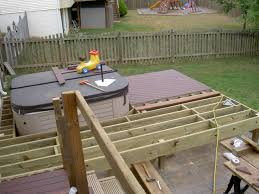 cool hot tub deck plans in backyard design ideas backyard hot tub ideas e cool hot