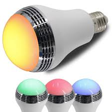 Can Light Speakers Led Color Mood Changing Energy Efficient Light Bulb W
