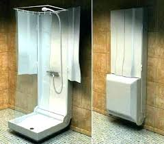 toilet shower combo sink camper about blue color and airstream unit