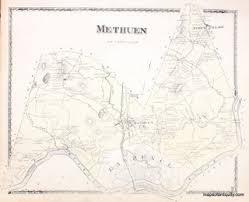 Methuen Massachusetts Antique Maps And Charts Original