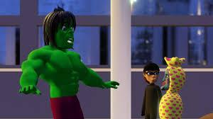 Gambar Hulk Lucu