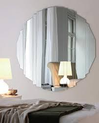 large round mirror wall decor