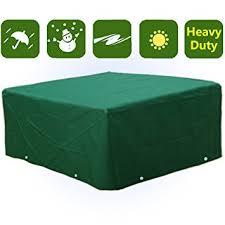 rectangular patio furniture covers. Waterproof Heavy Duty Rectangular Furniture Cover Patio Garden Outdoor Covers Amazon