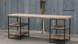 custom made office desks. Attractive Reclaimed Wood Office Desk Within Desks Barnwood CustomMade Com Custom Made S