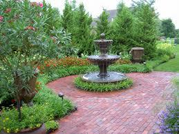 fountain garden. Beautiful Kansas City Garden Fountain
